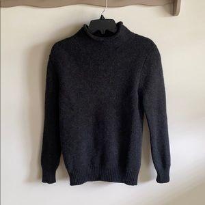 J. Crew 100% Lambswool Turtleneck Sweater